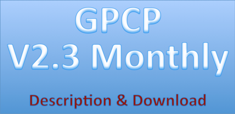 Link to GPCP Monthly